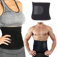 454d67c7988 Black Sweat Waist Trimmer Belt Wrap Stomach Slimming Fat Burn Weight Loss  Body