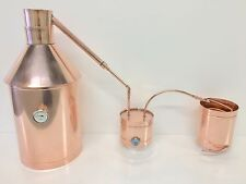 10 Gallon Copper Moonshine Still-Heavy 20oz. Copper- Thumper and Worm Included