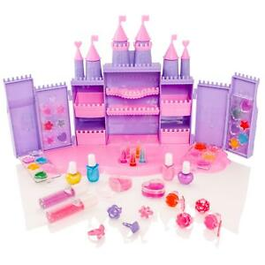 Princess Castle Girls Cosmetic Makeup Beauty Set Eye-shadow,Lipstick,Nail Polish