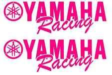 2 Yamaha Racing Decal PINK Sticker Motocross Jetski Waverunner yz r6 r1 mx yzf