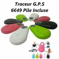 Mini Traceur GPS Bluetooth Chien Chat Voiture Porte-Clés Smartphone Neuf + Pile