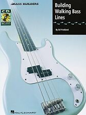 Building Walking Bass Lines (Bass Builders) by Ed Friedland, (Paperback), Hal Le