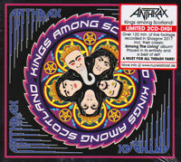 Anthrax Kings Among Scotland 2 CD Ltd Ed Digi Thrash Metal New Sealed