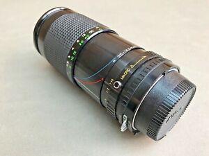 Vintage 35-140mm Zoom & Macro MF Lens For Nikon SLRs. Made in Japan