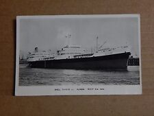 Postcard Shipping Shell Tanker S.S Alinda Real photo posted 1969