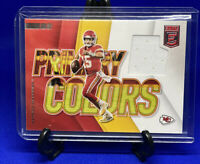 2020 Donruss Elite Patrick Mahomes Primary Colors Jersey Patch