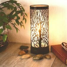 Black & White Tree Electric Touch Aroma Lamp 26cm Burner Wax Melt Oil Light