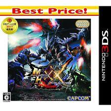 NINTENDO 3DS Monster Hunter XX Best JAPANESE VERSION For JAPANESE SYSTEM ONLY !!