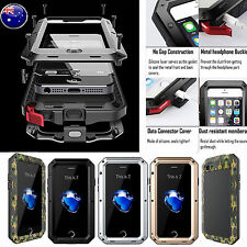 HEAVY DUTY SHOCKPROOF WATERPROOF Aluminum Bumper Metal Cover Case iPhone 5 6 7+