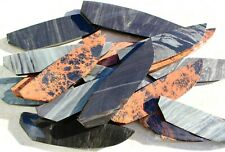 5 High Quality Obsidian/Dacite Preform Slabs Assorted Blanks Knapping Knife