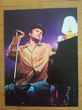 poster 28x20cm ROCK AND FOLK - années 80 - Phil collins en concert