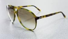Óculos De Sol Unissex Gucci-GG1026 s 05LLI-Verde Tartaruga com Lente Marrom 06e8583d08