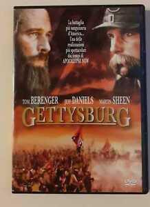DVD GETTYSBURG La Battaglia più insanguinata d'America - originale