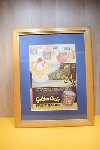 Vintage 1963 The Australia Women's Weekly Poster Golden Circle Collectable
