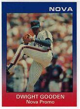 1989 Star Nova Dwight Gooden PROMO and (9) Card Set *MINT*
