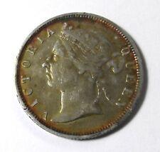RARE 1895 British Honduras Queen Victoria Silver 25 Cent Piece Coin 25c 47,000