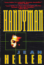 Handyman by Jean Heller (1995, Hardcover) 1st Edition Suspense Thriller