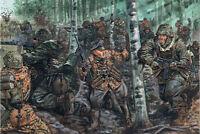 ITALERI 1:72 WORLD WAR II 48 SOLDATINI GERMAN ELITE TROOPS DA COLORARE 6068