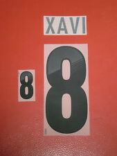 FLOCAGE OFFICIEL XAVI ESPAGNE AWAY 2012-2014