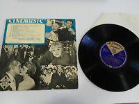 """Cinemusic N 1 Die Strada Besessenheit Il Bidone LP Vinyl 10 """" Telefunken"""