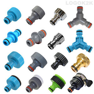 Tap Connector Adaptor Universal Garden Water Fit Hose Pipe Tap Brass Adapter