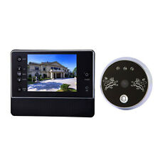 """Wireless Video Door Bell Digital Phone Doorbell Intercom Security Camera 3.5"""""""