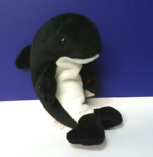 Ty Wave Killer Whale Mammal Plush Doll Toy