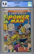 Luke Cage, Power Man #46 CGC 9.8 NM/MT Wp Marvel Comics 1977 RARE BRONZE GEM