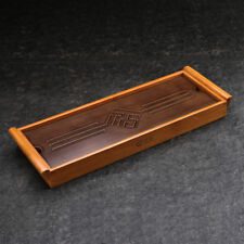 Chinese Gongfu Tea Serving Bamboo Table Water Drip Bamboo Tea Tray 39*13cm
