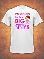 I'm going to be a Big Sister Birthday Present Childrens  T-shirt kids