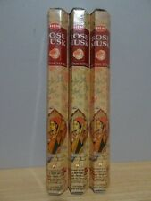 Rose Musk Incense  3 Packs x 20 Sticks   HEM Hex   Free Post AU