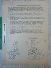 Original Fendt Bedienungsanleitung für Handregelhydraulik