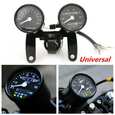 Motorcycle Speedometer Odometer Tachometer Gauges For Bobber Chopper Cafe Racer