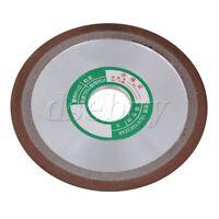 180 Grit Tapered Side 150mm OD Plain Resin Diamond Grinding Wheel Cutter Grinder