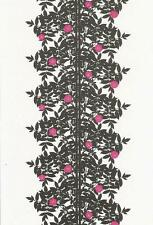 Postcard Maija Isola Marimekko Design: Ruusupuu,1957 MINT