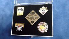 Pittsburgh Pirates Baseball Three Golden Decades Commemorative Pin Set 1970-2000