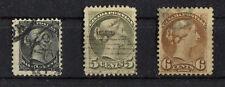 Canada Kanada 16 , 21 , 22 gestempelt aus 16 - 24 used Nichel 290,00 €