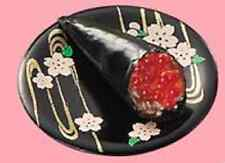 Re-ment Dollhouse Miniature Food - Sushi Tobiko (Fish Roe) Handroll 2.2cm