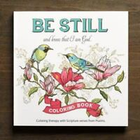 Adult Coloring Book Be Still (Paperback or Softback)