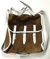 """CIVIL WAR CSA REBEL US UNION M1856 """"FRENCH MADE"""" KNAPSACK FIELD PACK-COW HIDE"""
