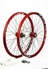 """Fulcrum Red Fire bicycle DH/down hill 6 Bolt 26"""" Mountain bicycle Bike Wheelset"""