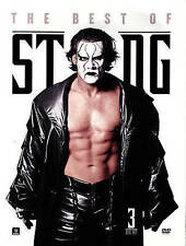 WWE: Sting - The Ultimate Collection (DVD, 2014, 3-Disc Set)