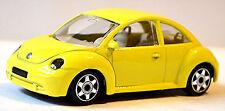 VW Volkswagen New Beetle Tipo 9C 1997-2005 giallo 1:43 Bburago