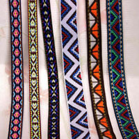 Vintage Lace Crochet Jacquard Ribbon Braid Embroidery Trims Woven Border Crafts