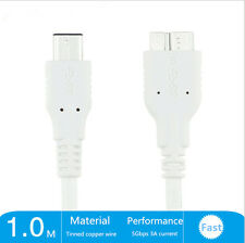 USB-C Type C USB 3.1 Male To Micro B Male Charger Hard Disk Drives Cable Cord