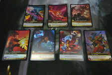 Warcraft CCG TCG - Bundle of 7 x Extended/Full Art FOIL Cards WOW - NM Condition