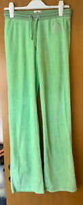 Juciy Couture Lime Green Velour Bottoms Size XS