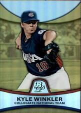 2010 Bowman Platinum Gold Refractor Kyle Winkler PP49 Team USA 482/539