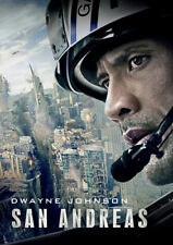 San Andreas DVD (2015) Dwayne Johnson