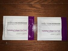 NEW Wilma Schumann Skin Care Hydrating Collagen Eye Pads, 2 Pairs, 1 Pair Per Pk